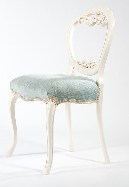 Dover Dining Chair. A Small Delicate Balloon Back Chair With Fine Carving  Appended Under The
