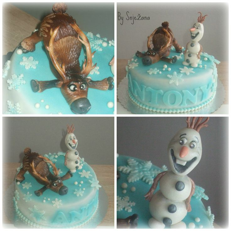 Disney Frozen Olaf and Sven
