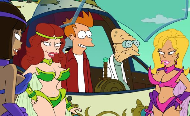 "Top 25 Futurama Episodes - IGN  ""All the presidents heads"" should be on the list"
