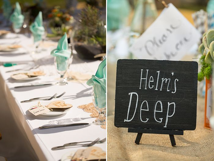 Outdoor Lord Of The Rings Wedding Not Too Over Done And Absolutely Perfect