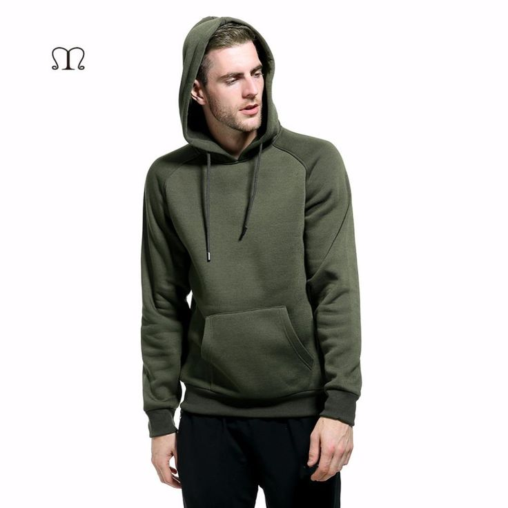 Europe Size Fashion Color Hooides Men's Thick Clothes Winter Sweatshirts Men Hip Hop Streetwear Solid Fleece Hoody Man Clothing