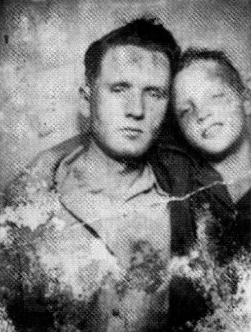 Rare.  Young #Elvis and Vernon Presley photo.