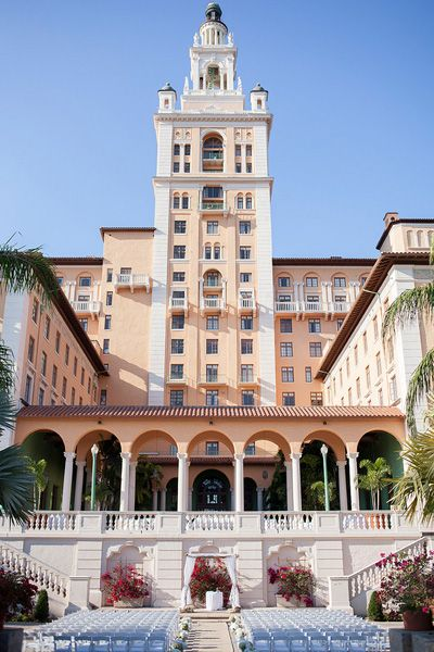 ceremony at the Miami Biltmore Hotel | Captured Photography #wedding