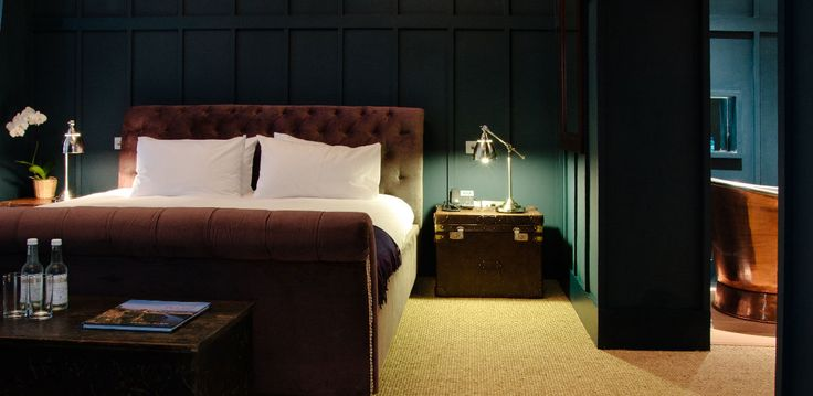 I slept there. Number Thirty Eight luxury townhouse hotel in Bristol's Clifton