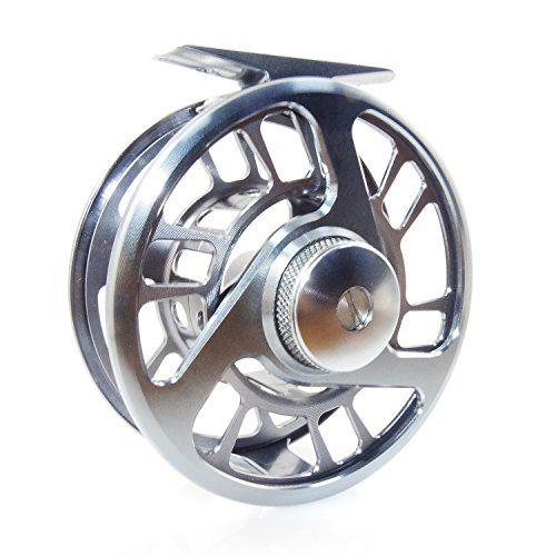 Comprar carrete de mosca XHY al aire libre carrete de pesca con mosca HS (oscuro plata HS207 3/4)