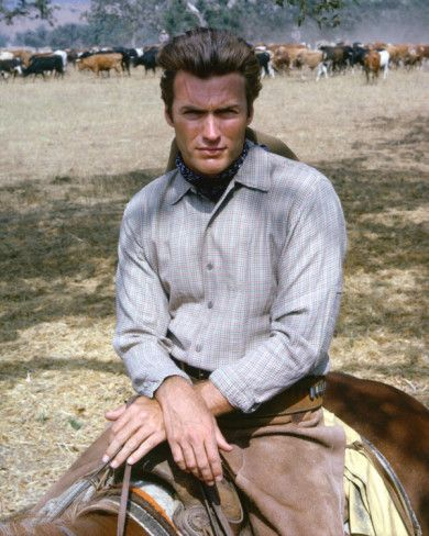 Rawhide images of Clint Eastwood | Clint Eastwood - Rawhide Photo at AllPosters.com