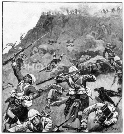 This Day in History: Feb 27, 1881: The Battle of Majuba Hill, South Africa http://dingeengoete.blogspot.com/ http://cache1.asset-cache.net/xc/92823574-battle-of-majuba-hill-in-first-boer-war-photos-com.jpg?v=1=IWSAsset=2=910C62E22B9F47AADCF4F412FC97E27C8551414706618F74AE0B0D4FCBB66C1AE30A760B0D811297