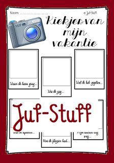 Juf-Stuff: Kiekjes van mijn vakantie