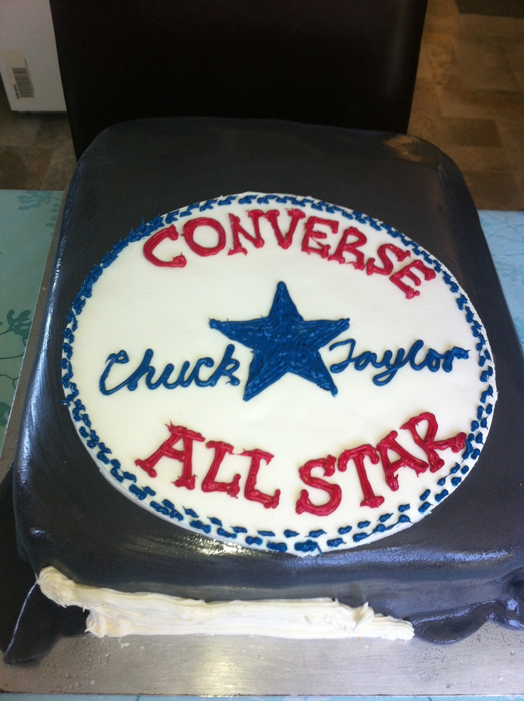 All Star Converse Cakes