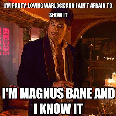 The Mortal Instruments Magnus Bane Memes, Funny Pictures | Teen.com
