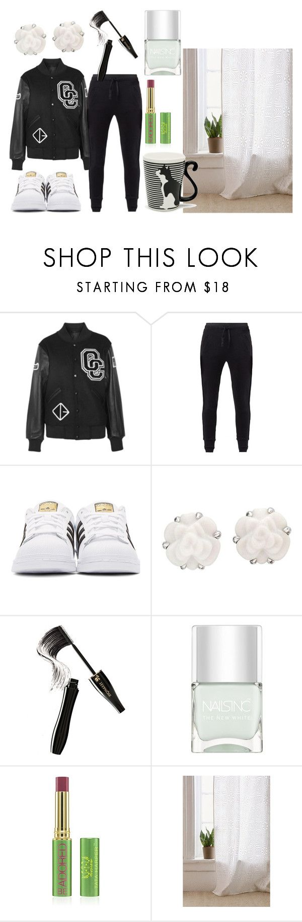 """A sorrir"" by de-garbelini ❤ liked on Polyvore featuring Opening Ceremony, MANGO, adidas Originals, Chanel, Lancôme, Nails Inc., Tata Harper, Urban Outfitters and Miya Company"
