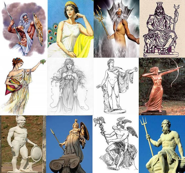 greek mythology and the idea of gods Mythology: timeless tales of gods and heroes greek and roman mythology is quite generally that was not a hebrew idea, it was greek in.