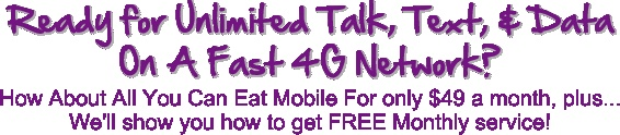 Unlimited Talk, Text, & Data - http://mobile.ninja-system.com