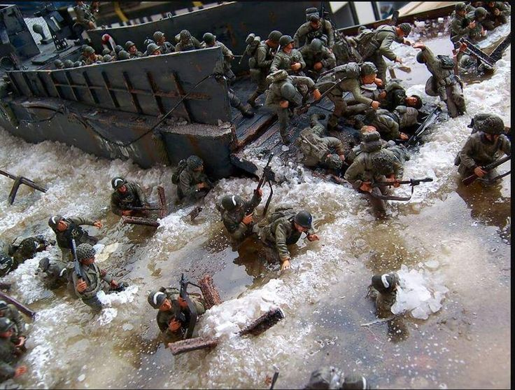D-day in scale