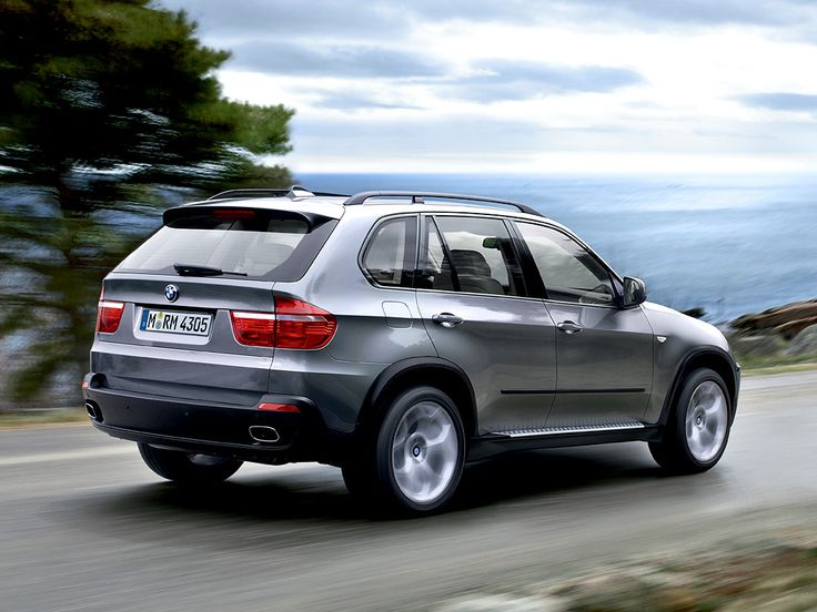 BMW X5, safety, good looks, and performance all together. Good car for a small family.