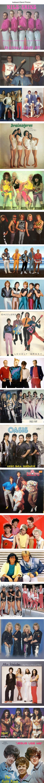 Awkward vintage band photos: horrible (mostly 1980s) fashion