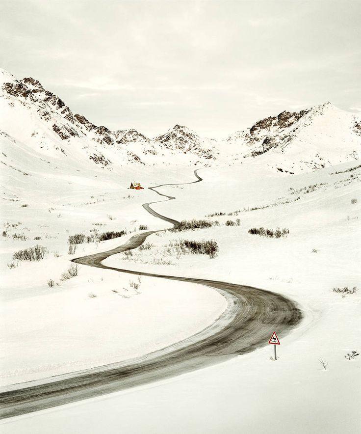Roads: imagens poéticas de estradas vazias por Christian Schmidt   The Hype BR