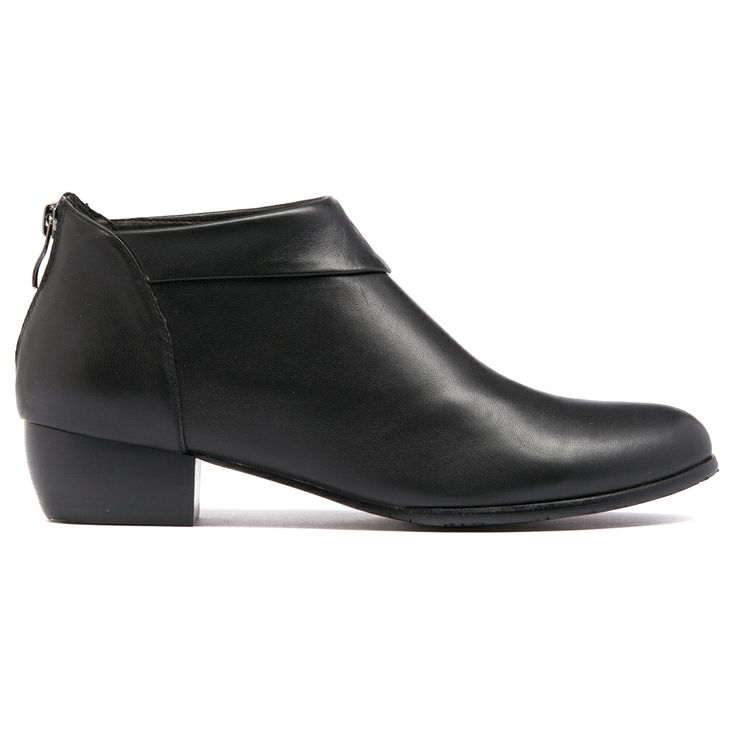 TOYLA- This is a great cut boot made with magnificently soft leather that will fit like a glove and look great for seasons to come. Featuring an almond toe, fold over cuff and back zip for easy entry.