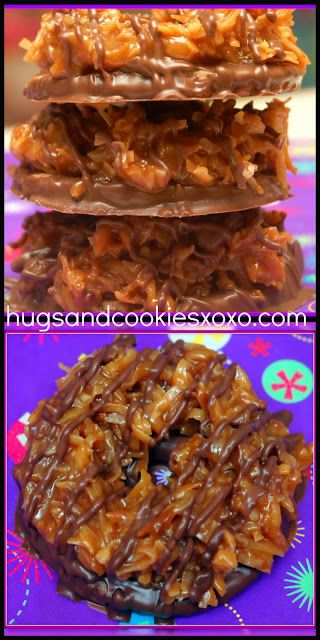 SAMOA GIRL SCOUT COOKIES - Hugs and Cookies XOXO