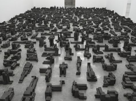 'Fit', South Galleries, White Cube Bermondsey, London - Antony Gormley - 30 September - 6 November 2016 - 120475