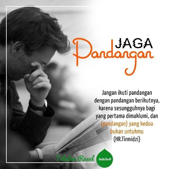Jaga pandangan kita... #teladanrasul #ramadhan