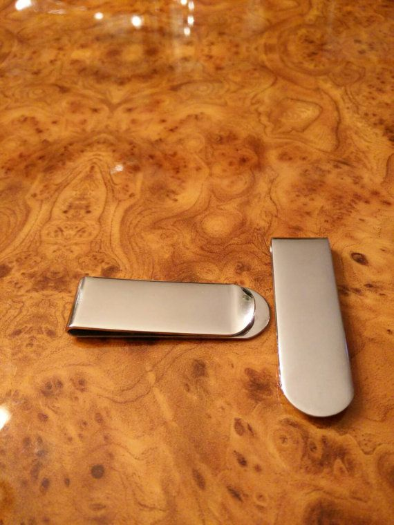 Stainless Steel Money Clip, Personalized Money Clip, Money Holder, FREE SHIPPING!