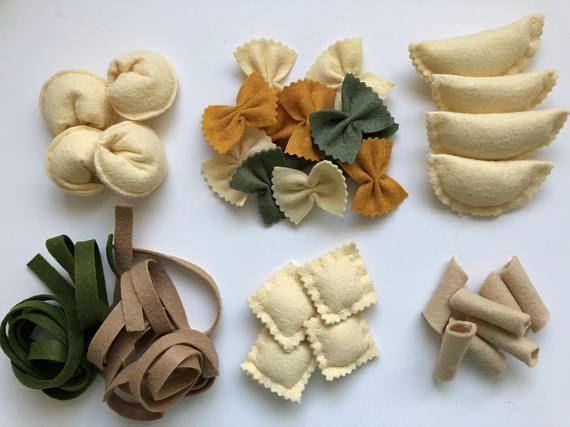 Play House Felt Food Vegetables Early Learning Felt Play Food Mushrooms Play Kitchen Montessori Learning