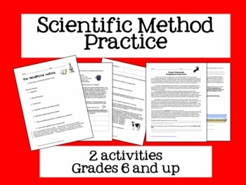 the description of a scientific method of a chemistry experiment tested in a lab Scientific method (black box experiment)  the scientific method begins with an observation that  the predictions are tested using carefully designed experiments.