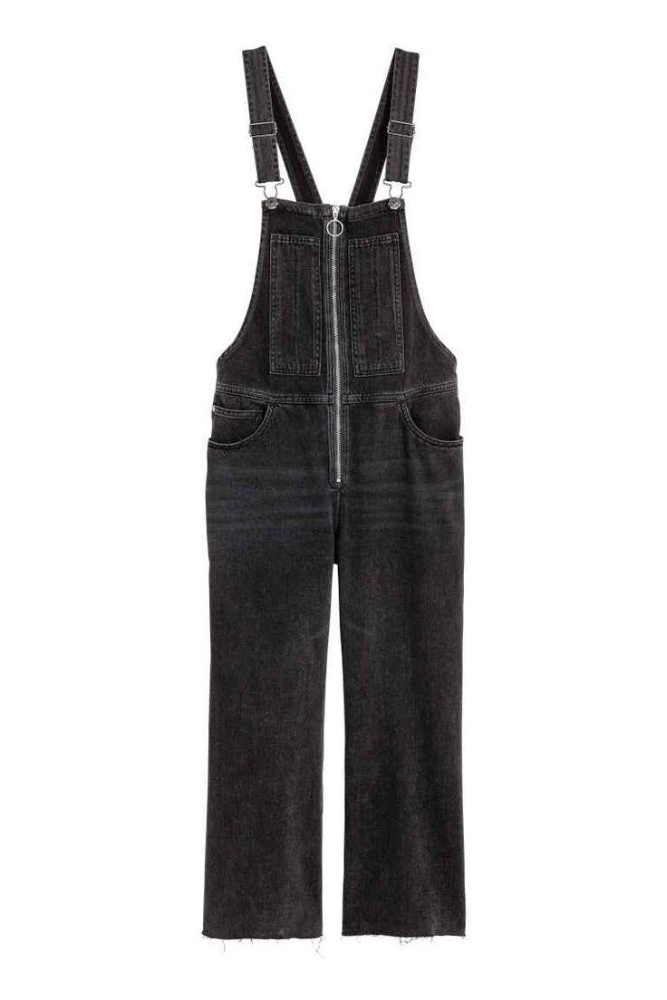 Peto vaquero - Negro 39,99 EUR | H&M
