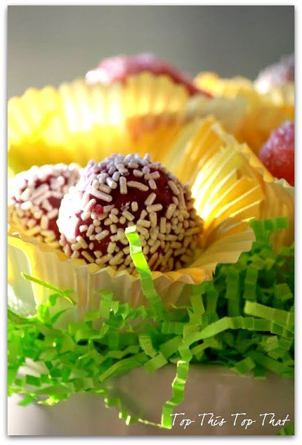 8 best my paper works images on pinterest diy paper bouquets easter hostess gift make these edible cake pops negle Images