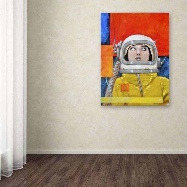 "19 in. x 12 in. ""Interstellar-inga"" by Craig Snodgrass Printed Canvas Wall Art"