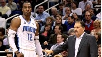 I love a good Van Gundy battle. Stan Van Gundy is the funniest coach in the history of modern professional sports. I especially love that he doesn't take any shit from his players, namely one Dwight Jeremetrius Howard