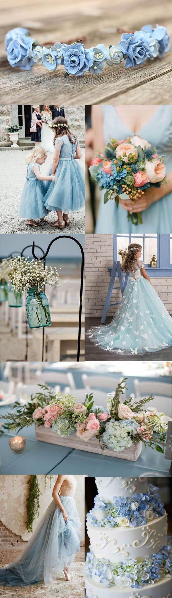 Material:Tulle|Embellishments:Appliques,Button,Lace,Flowers  #wedding #weddingdress #weddingbouquet #weddingshoes #bridesmaid #beach #beachwedding #lightblue