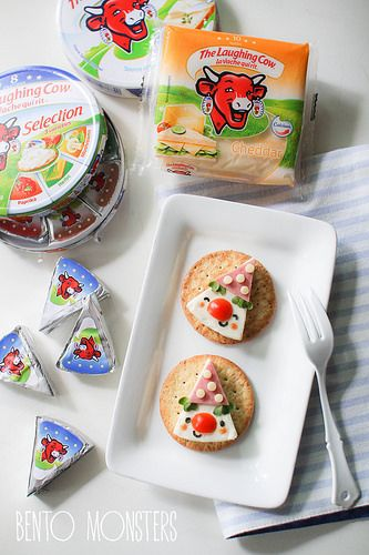 Bento, Monsters: Clown Cheese Wedge