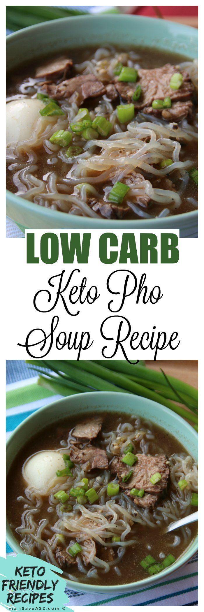 BEST Keto Pho Recipe! via @isavea2z