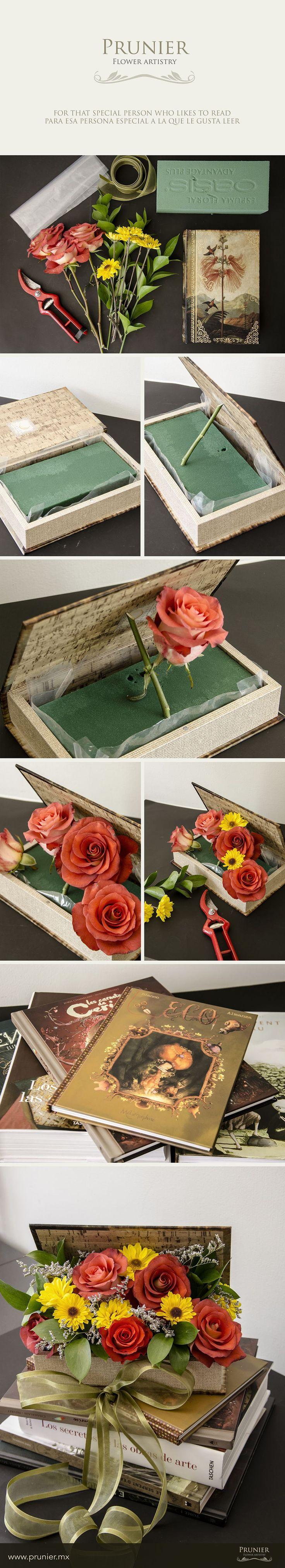 Livre ancien fleuri !