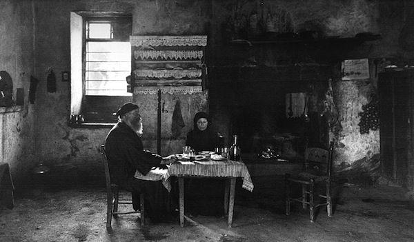Κρήτη, σπιτικό στο χωριό Λάκκοι  (1911)