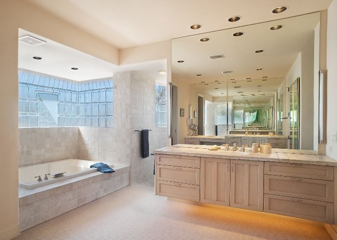 tucson az bathroom by eren design remodel as the master bathroom in a