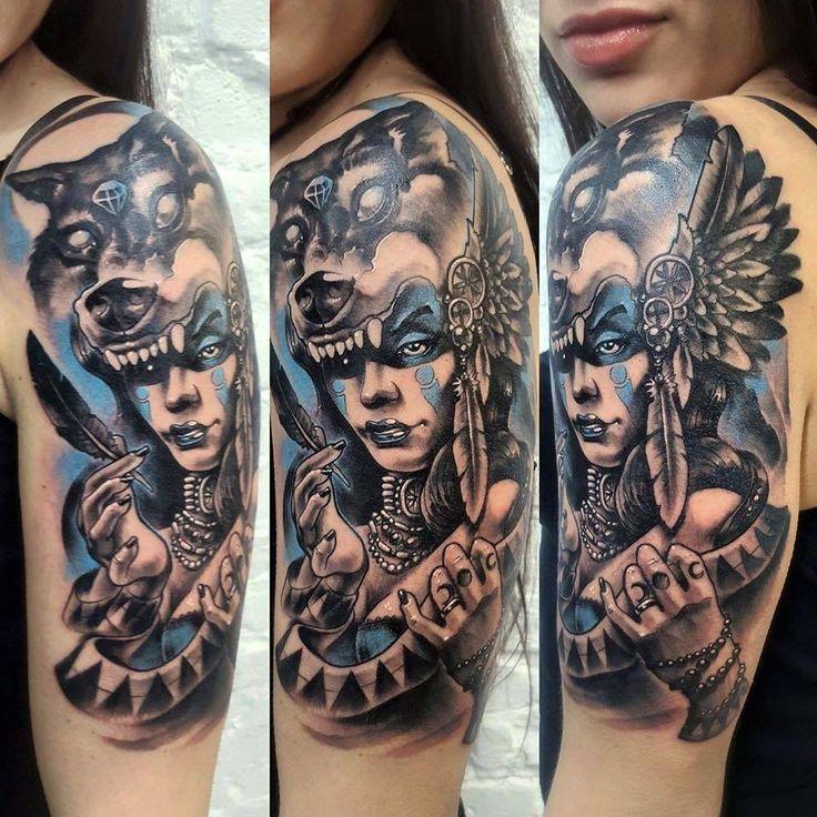arm tattoo, woman tattoo, 77ink