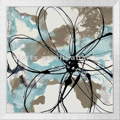 Abstract Flower Oil Painting - Buy Canvas Abstract Flower Oil ...