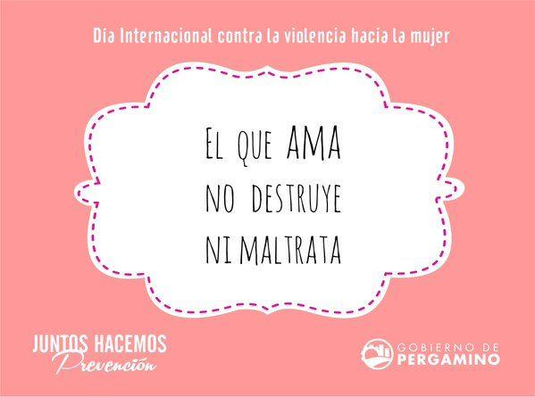 Día Internacional contra la violencia hacia la mujer #NiUnaMenos