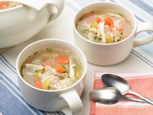 Get Food Network Kitchen's Simple Chicken Soup Recipe from Food Network