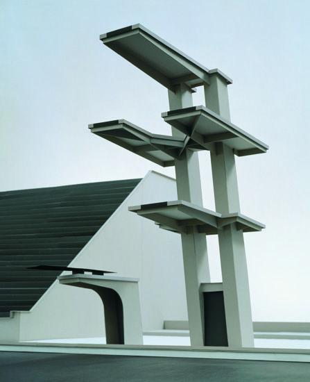 Thomas Demand, Sprungturm (Diving Platform), 1994
