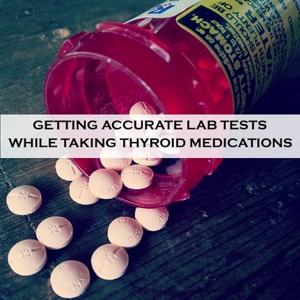 """Thyroid hormones aregoldilockshormones, meaning the dose has to be """"just right"""" for us to feel optimal. Doses that are too high or too low can result in symptoms. Whenever I see a low TSH number in someone who is taking thyroid medications, my first question is always: """"Did you take your thyroid medications before you had your thyroid labs drawn?"""""""