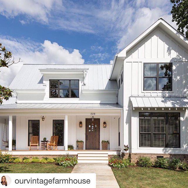 90 Incredible Modern Farmhouse Exterior Design Ideas 12: Best 25+ Farmhouse Front Porches Ideas On Pinterest