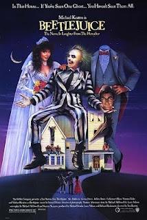 Beetlejuice: Os Fantasmas Divertem-se. Um Clássico de Tim Burton....