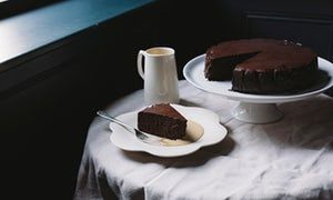 King of puddings: There is something of the Scarlet Pimpernel about this luscious chocolate cake: an aristocratic Gallic gateau that takes the breath away