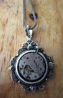 Lovely vintage style watch work pendant. Forsaken8's deviantART Gallery