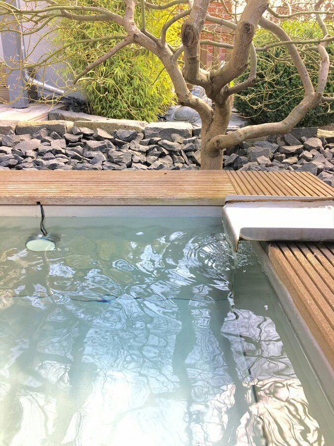 Die Besten 17 Bilder Zu Garten - Feuerstelle, Trampolin Und Pool ... Eine Feuerstelle Am Pool