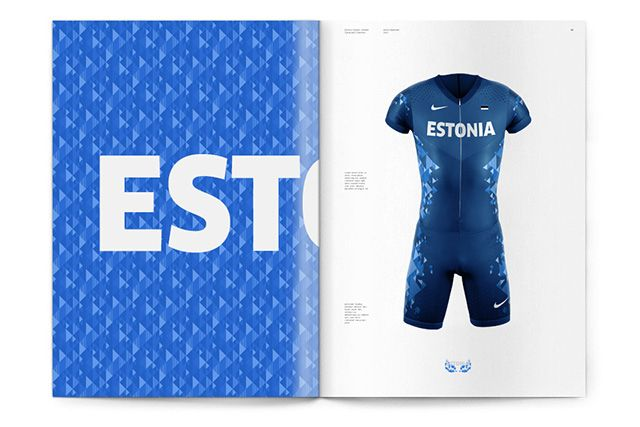 2016 Estonian Olympic Uniform (identity concept)